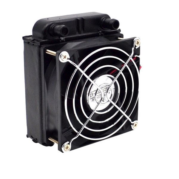 80Mm Aluminium Radiator Fan Included Water Cooling