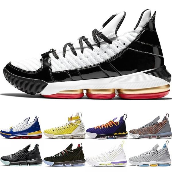 Hommes 16 Chaussures de basket-ball 16s Égalité Hfr Martin Remix Superbron Safari Regarder Le Trône Entraîneur Athlétique Sports Sneakers Pas Cher Vente