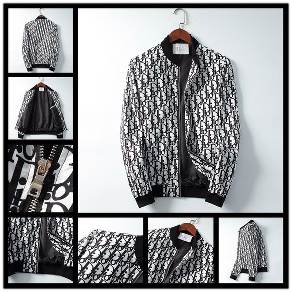 Diseñador para hombre chaqueta de la marca de moda nuevo abrigo chaqueta de lujo abrigo de manga larga chaqueta de diseñador hombres y mujeres M-3XL