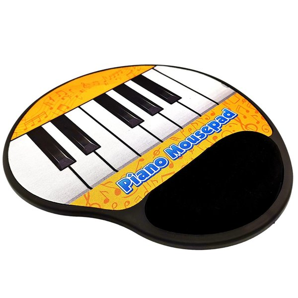 Music Mouse Pad,Piano Key Electric Toy Mouse Pad For Pc Laptop Music Piano  Symbol Keyboard Arm Rest Keyboard Gel Wrist Rest From Ellanance, $33 83 