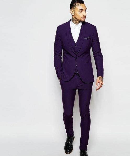CustomLatest Dark Green Groom Tuxedos Groomsmen Custom Made Best Man Suits Mens Wedding Party Suits (Jacket+Pants+Vest)
