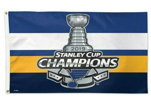 Флаг Сент-Луис Блюз 2019 Кубок Стэнли Желтый баннер чемпионов