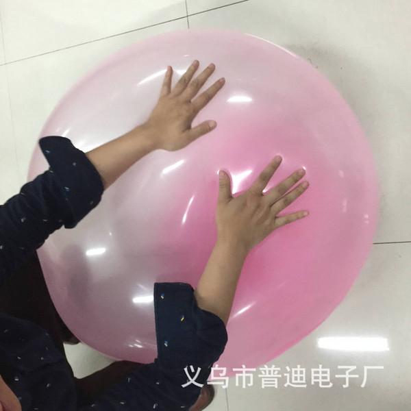 2 шт прозрачный пузырь мяч супер надувной мяч wubble пузырь творческий детская игрушка эластичный