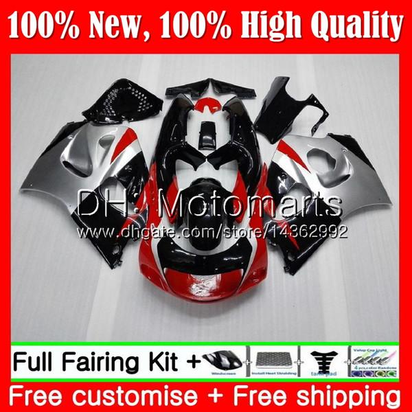 Body GSXR-600 For SUZUKI SRAD GSXR600 GSXR750 96 97 98 99 00 5HM20 GSXR 600 750 Red GSX R750 1996 1997 1998 1999 2000 Fairing Bodywork