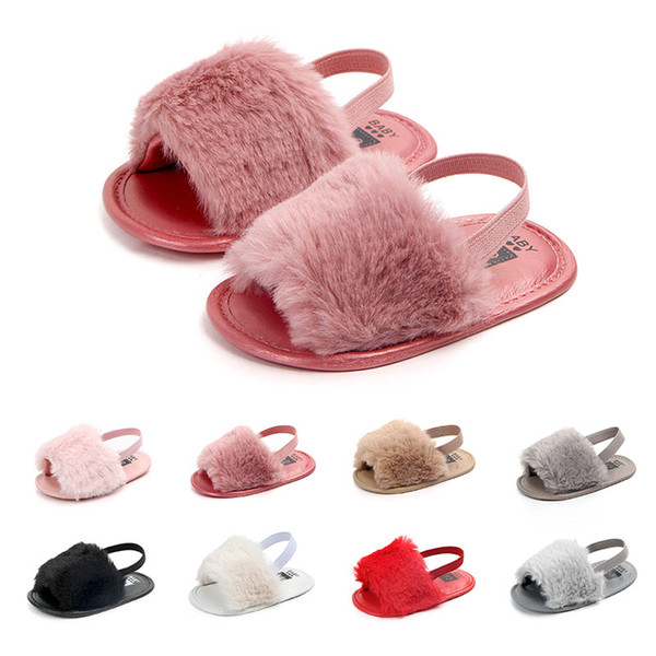 Princess Baby Sandals Infant Girls Sandal Baby Summer Toddler Non-slip Crib Shoes For Girl Children Sandals
