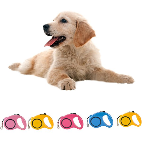 New Pet Dog Cat Automatic Retractable Traction Rope Dog Collars and Leashes Walking Safety Lead Leash Supplies Accessory