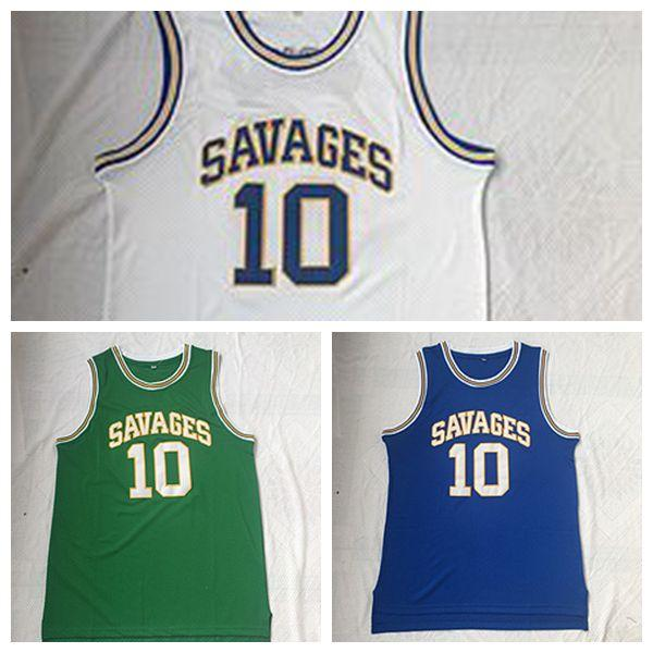 big sale 5a2cc 0365f 2019 2019 New Dennis Rodman Oklahoma Savages Jersey NCAA College Jerseys  Basketball Mens Color Blue White Green Breathable University Uniforms From  ...