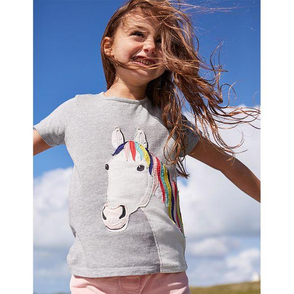 Baby T Shirts 2019 New Kids Baby Girls Summer Fashion 100% Cotton Short Sleeve Print T-shirt Tops Clothes