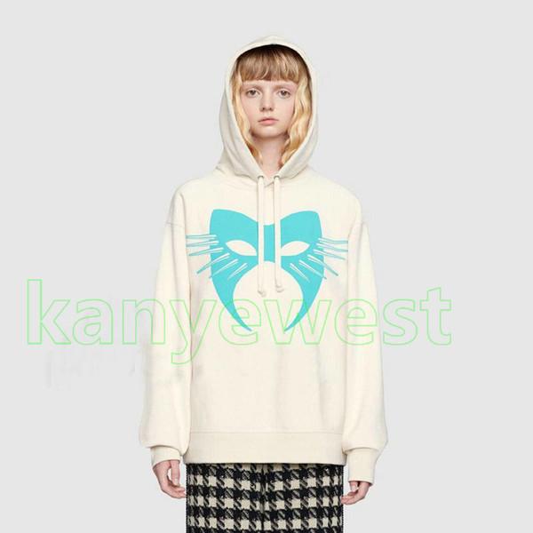 19ss heißer Herbst Winter Europa Italien herren Maske Hoodies Mode Männer Kleidung top qualität Mit Kapuze designer Sweatshirt Frauen Baumwolle Casual Hoody