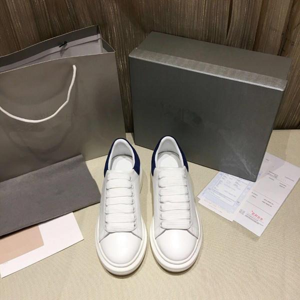 Новый бренд повседневные мужские кроссовки синие из натуральной кожи с морщинистой овчиной на шнуровке Arena Luxury Kanye West кроссовки на высоком каблуке XR 35-45 13530