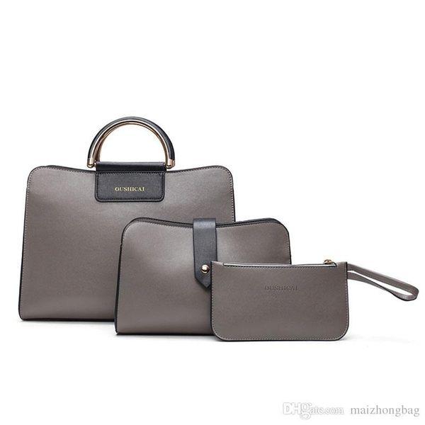 8afb13b189c68 2018 Yeni moda 3 adet set kompozit çanta çantalar bayan çanta tote çanta  marka isimleri çanta toptan ücretsiz kargo