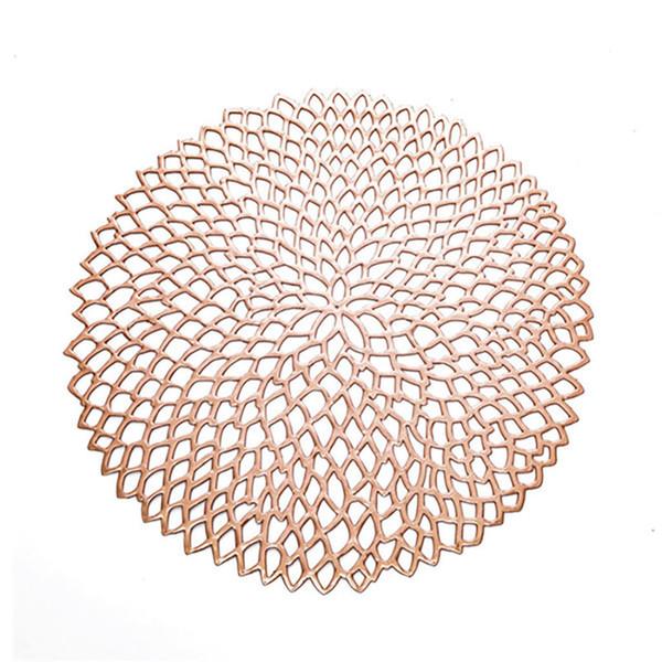 ouro rosa 39 centímetros Rodada