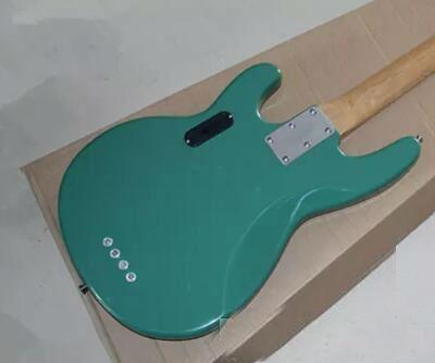 Wholesale - Free shipping High Quality Sting Ray 4 String Music Man Active Pickup Green Electric Bass Guitar Maple Neck