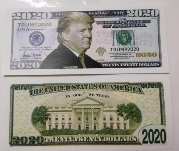 Trumpf 2020 Banknoten