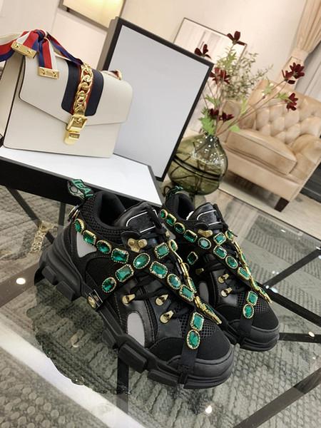 Flashtrek кроссовки со съемными кристаллами мужская женская дизайнер альпинизм обувь открытый походные ботинки кроссовки xyh19021608