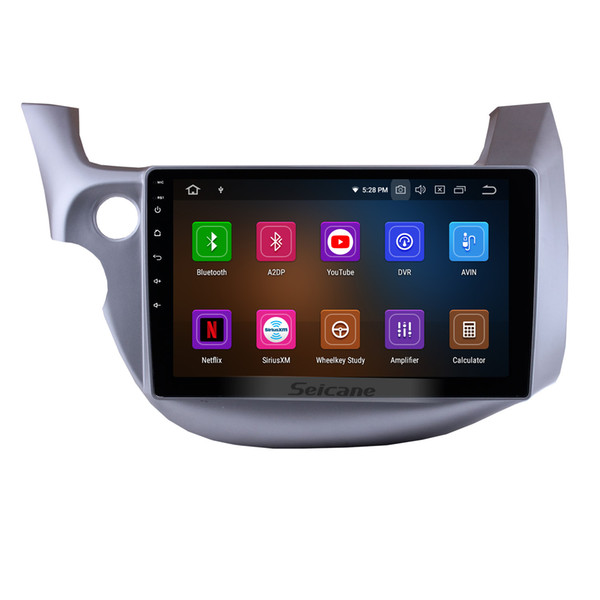 10.1 inch Android 9.0 Touchscreen GPS Navi Car Stereo for 2007-2013 Honda FIT with WIFI Bluetooth Mirror Link support OBD2 DVR car dvd