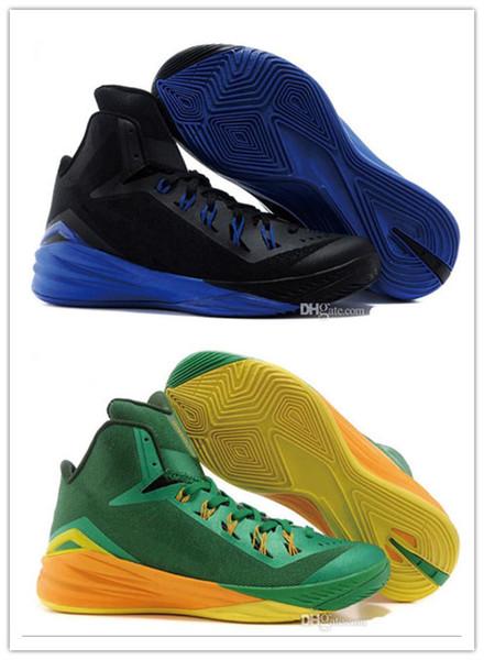 Chaussures de course haut de gamme pour hommes et femmes Chaussures de basketball Hi-Top Hyperdunk TB pour hommes à la mode de haute qualité pour les baskets intérieures et extérieures 3A 09