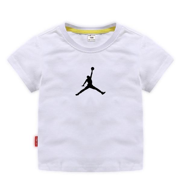 Hochwertige Design Kinder T-Shirt Jungen Mode Kurzarm Mädchen Baumwolle atmungsaktiv Feuchtigkeitstransport Sommer neue 3-8 Jahre alt 10 Farbe