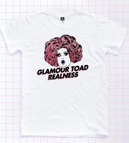 T-shirt do sapo do encanto T do gay de Rupaul Minj do gengibre Parte superior da realidade do orgulho de LGBT Dragrace