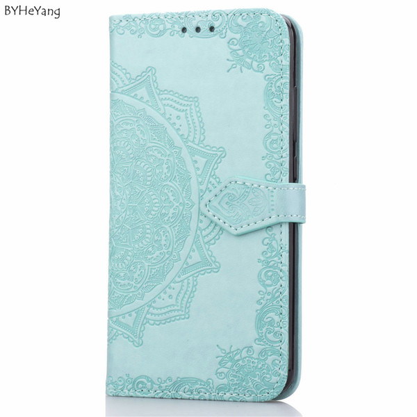 Wallet Cases BYHeYang For Xiaomi mi 8 lite Case Luxury Leather Stand Wallet Flip Cover Case For Xiaomi mi8 lite Magnetic Filp
