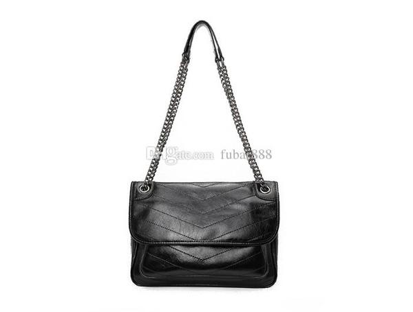 2019 handbag wallet chain handbag handbags Messenger bag fashion retro leather shoulder bag 533037 498894