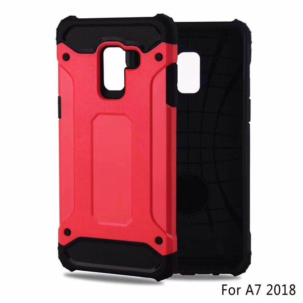 For Motorola C E4 Z2 E5 Z3 Plus Play Fashion 2 In 1 TPU PC Hybrid Anti Fall Shockproof Protective Phone Case Cover