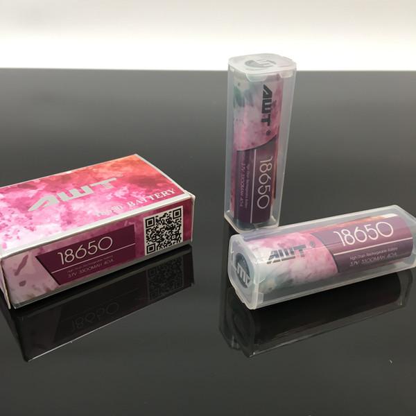 Новый оригинальный AWT 18650 аккумулятор 3300mah 40a 3.7 V батарея с пластиковой внутренней коробке для vape модов vape pen 18650 батареи