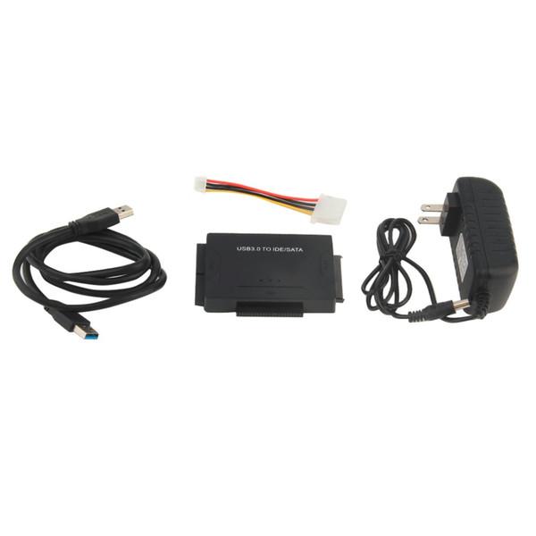 Convertitore di trasferimento dati SATA a USB 3.0 USB plug IDE SATA a USB 3.0 per disco ottico HD / 2,5 / 3,5 / 5,25 HDD SSD