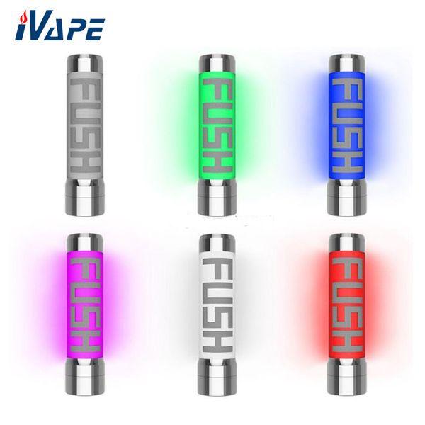 100% Orijinal Acrohm Fush Yarı-Mech LED Mod 26mm Işık Renk ACE Çip Ile Değiştirilebilir Tüp Mod KULLANıMı Koruma tarafından desteklenmektedir 1 18650 pil
