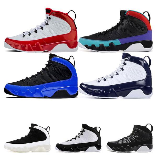 HavaRetroürdün 9 Gym Kızıl Rüya O UNC Bred Antrasit spor eğitmenleri Sneaker büyüklüğü 7-13 9s Do It Racer Mavi Erkekler basketbol ayakkabıları