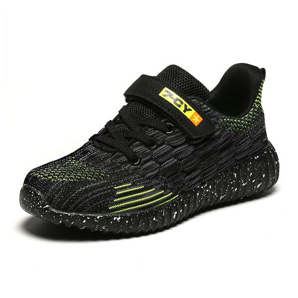 Primavera Luz respirável Children Sneakers marca de moda Boy Casual tênis para meninos confortável macio Crianças Shoes Tamanho 28-39