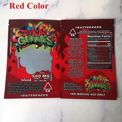 Dank Gummies red bags