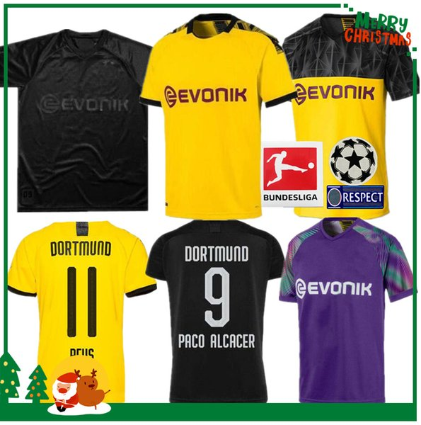 19 20 Borussia Dortmund Soccer Jersey 2019 2020 Football Shirt Sancho Reus Hummels Brandt Paco Delaney Men And Kids Kit Maillot Black Yellow Buy At The Price Of 14 90 In Dhgate Com Imall Com