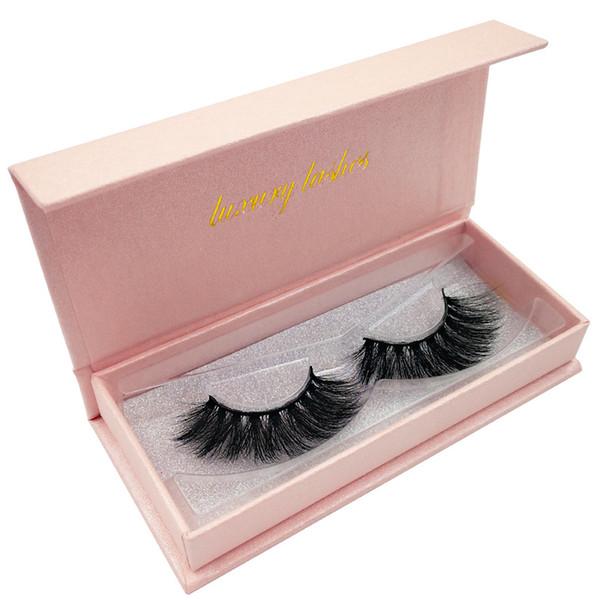 Shidi high-end 3D mink eyelashes 1 pair of natural thick false eyelashes natural thick eyes shine enlarged eyes