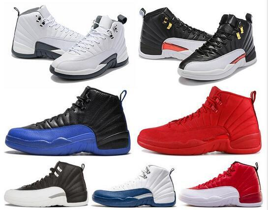 2019 New Basketball Shoes 12 12s Men Shoe DOERNBECHER FIBA Reverse Taxi Game Royal French Blue Mens Trainers Outdoor Sports Sneakers 7-13