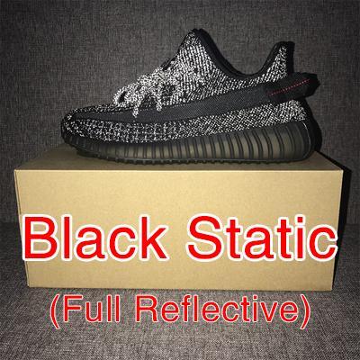 Reflexivo estático negro
