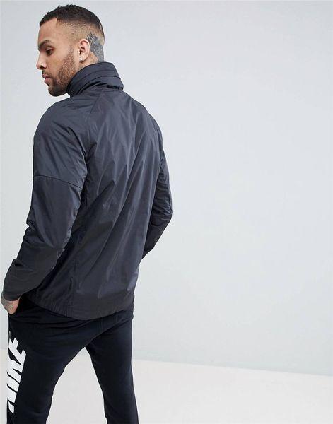 Mens Designer coupe-vent Marque Casual Jacket Coat Active Mode Veste Veste Sport pour homme avec Tick 2 Couleur Plus La Taille S-4XL