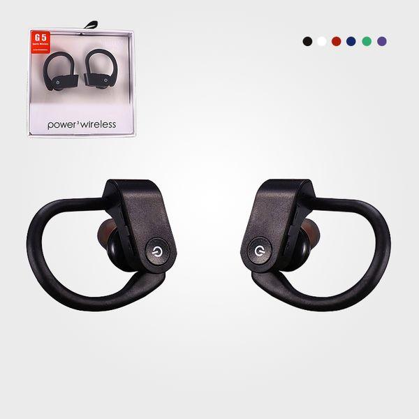 Drahtlose Bluetooth Headsets Bluetooth 5.0 Kopfhörer Freisprecheinrichtung Ohrbügel Kopfhörer G5 Mini Drahtlose Headsets Ohrhörer Ohrhörer Für iPhone xiaomi