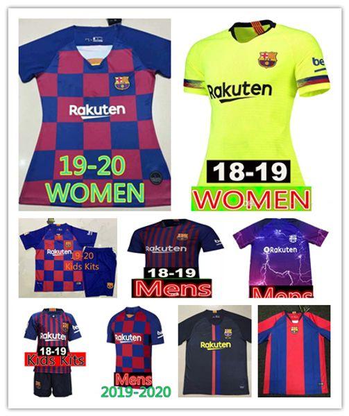 2c71736bcbd329 Compre 2019 Homens Mulheres Crianças Homens Barcelona Futebol Messi ...
