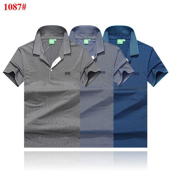 Printed Phillip Plain T-Shirt Fashion Casual Fitness Cool O-neck Men's Bear T Shirt Summer Short Sleeve Men Clothing-1114