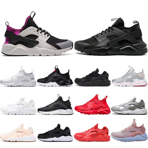 Nike Air Max Designer White Dot ACE Huarache 4.0 IV 1.0 Chaussures de course Classique Triple Black Hommes Femmes Rouge Marque Huaraches Luxe Sport Sneakers