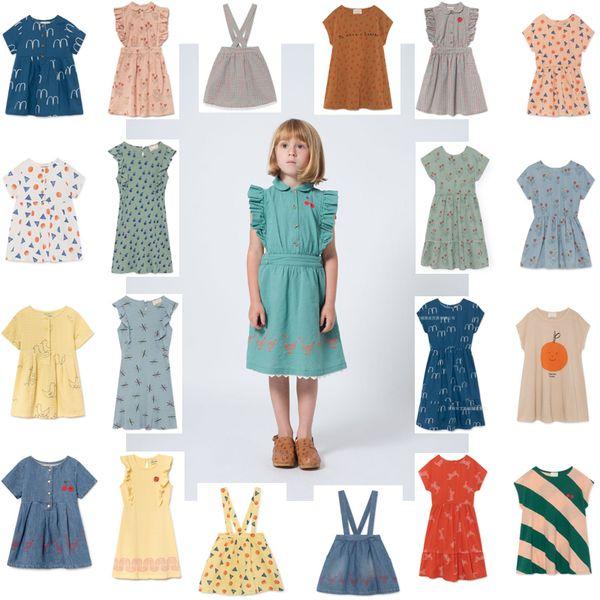 Платье для девочек 2019 весна лето Strafina Tao Baby Дети с коротким рукавом платье принцессы ну вечеринку платье для девочки детская одежда Vestidos Y190515