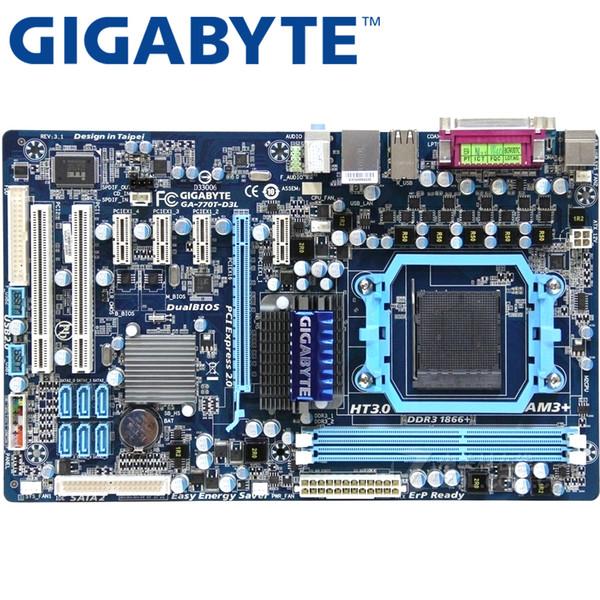 Acheter Gigabyte Ga 770t D3l Carte Mère 770 Socket Am3 Ddr3 8g Pour Phenom Ii Athlon Ii Atx Original Utilisé 770t D3l De 5375 Du Cigirat