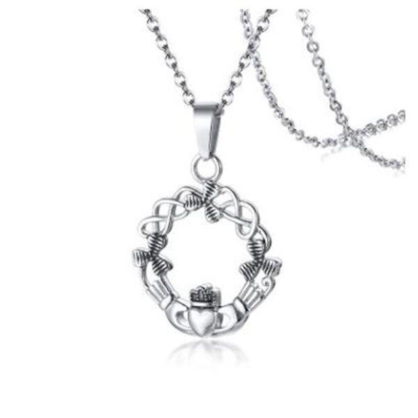 APL - Nuevo colgante Joyas de acero inoxidable para mujer Collar de Krada colgante de acero Collar de alta calidad CHARM GIFT
