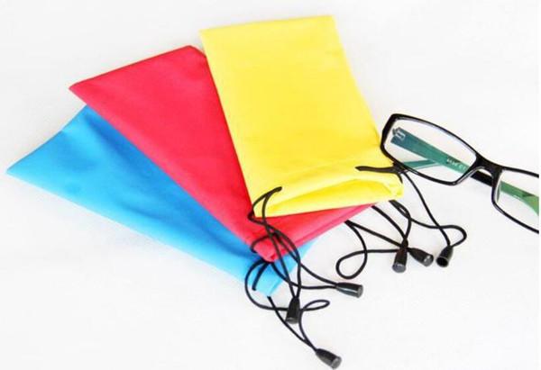 New Cellphone Pouch eyeglasses bag Sunglasses 3D Glasses Case Waterproof Holder Soft Dust Pouch Carry Bag Eyeglasses bag Accessories 100
