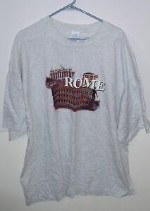 Rome Italie 90 10 T-shirt Colisée Graphique 3XL