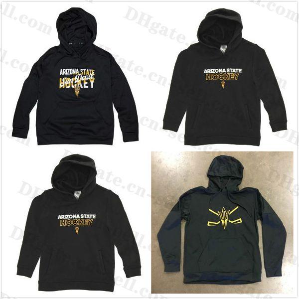 2020 Arizona State Sun Devils Pullover Hoodie Jersey Mens Womens Youth Hockey Sweatshirts Jerseys Stitched Hockey Wear