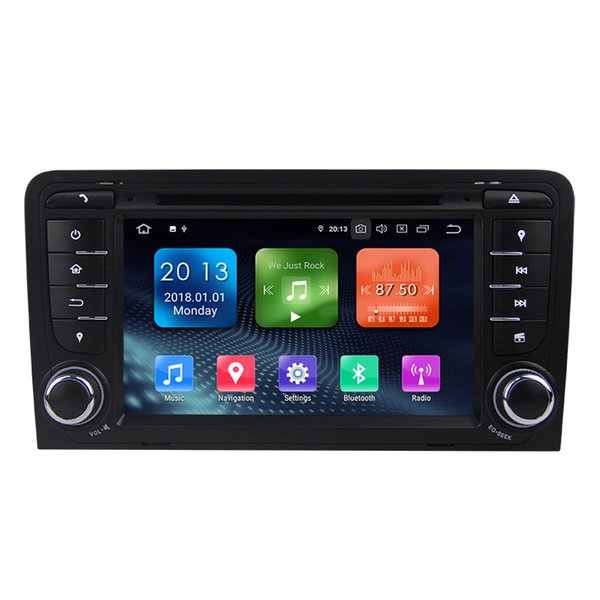 Zhuohan 7 Inch HD Android Car DVD Player for AUDI A3 with Bluetooth GPS(AD-L7047)