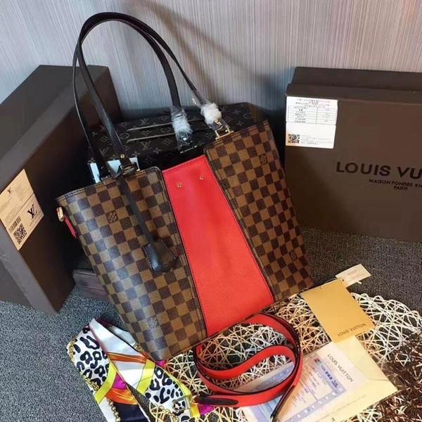 2019 M43196 Jersey Donne Red nuovo modo Shopping Bags spalla Hobo Borse Top Manico Boston Croce Body Messenger Shoulder Bags