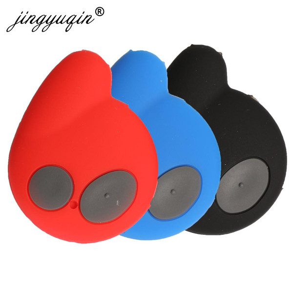 jingyuqin 30pcs/lot Remote Silicone Key Case 2 Buttons Fit for Cobra Alarm 7777 Remote Key FOB Cover Protector Holder